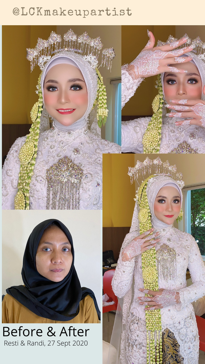 Wedding Make Up Jawa  by LCK Makeup Artist - 001
