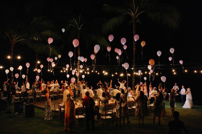 George & Joudy by BALI STAR WEDDING PLANNER - 005
