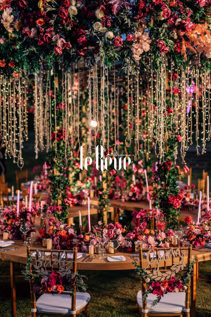 This Wedding Has Electric Feels by Le Rêve Events International - 002