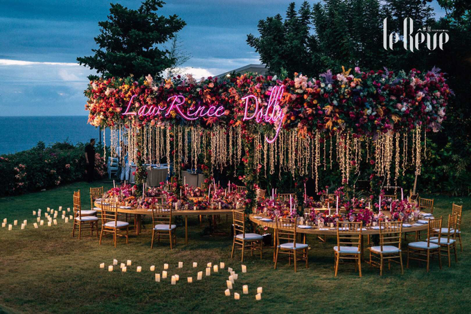 This Wedding Has Electric Feels by Le Rêve Events International - 003