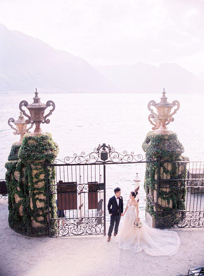 Glamorous Wedding at Villa del Balbianello Lake Como by AF Atelier - 026