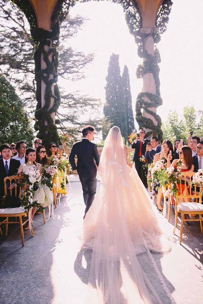 Glamorous Wedding at Villa del Balbianello Lake Como by AF Atelier - 007