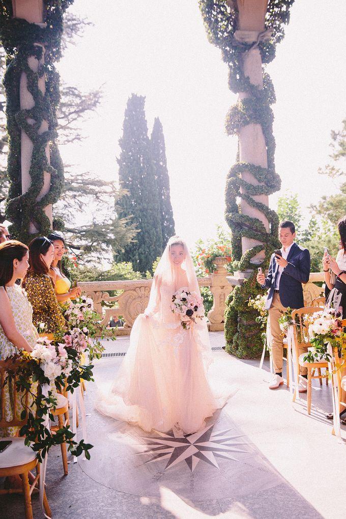Glamorous Wedding at Villa del Balbianello Lake Como by AF Atelier - 005
