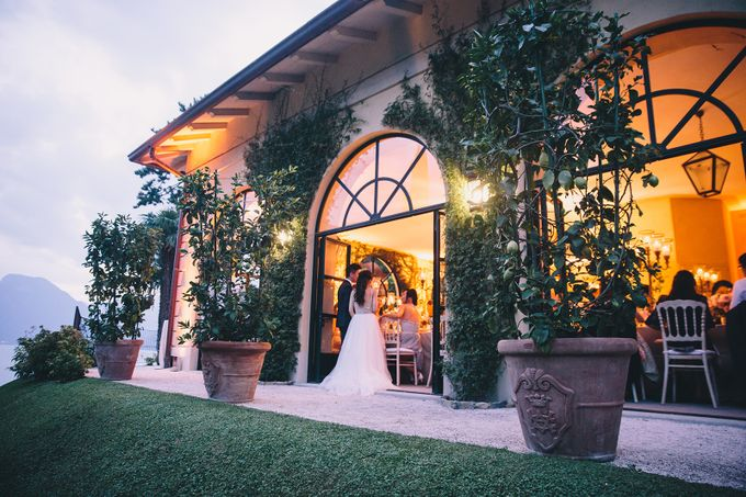 Glamorous Wedding at Villa del Balbianello Lake Como by AF Atelier - 035
