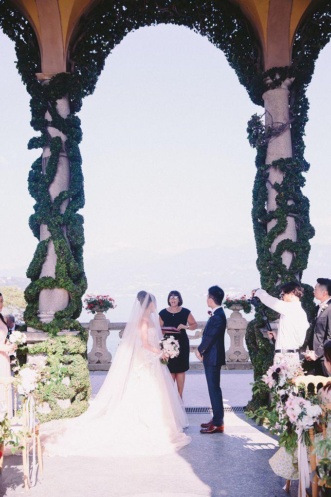 Glamorous Wedding at Villa del Balbianello Lake Como by AF Atelier - 006