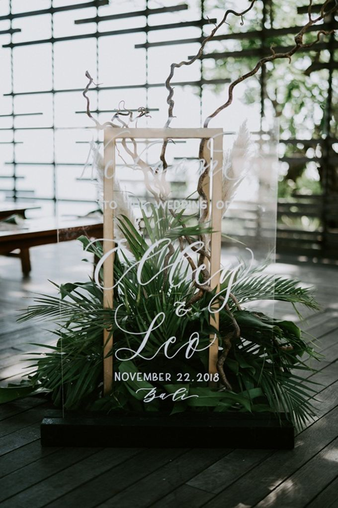Wedding Elley & Leo by Bali Izatta Wedding Planner & Wedding Florist Decorator - 004