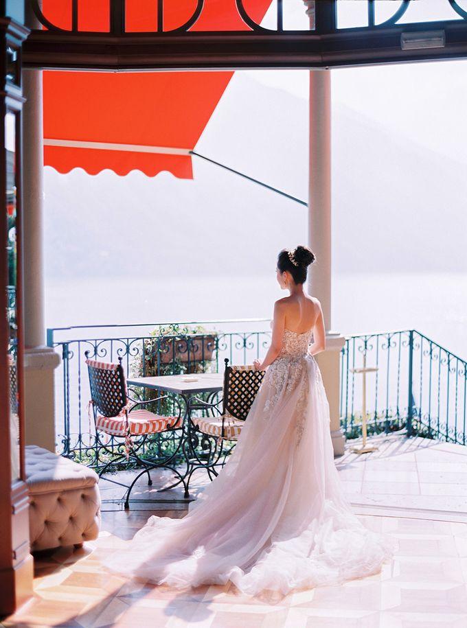 Glamorous Wedding at Villa del Balbianello Lake Como by AF Atelier - 009