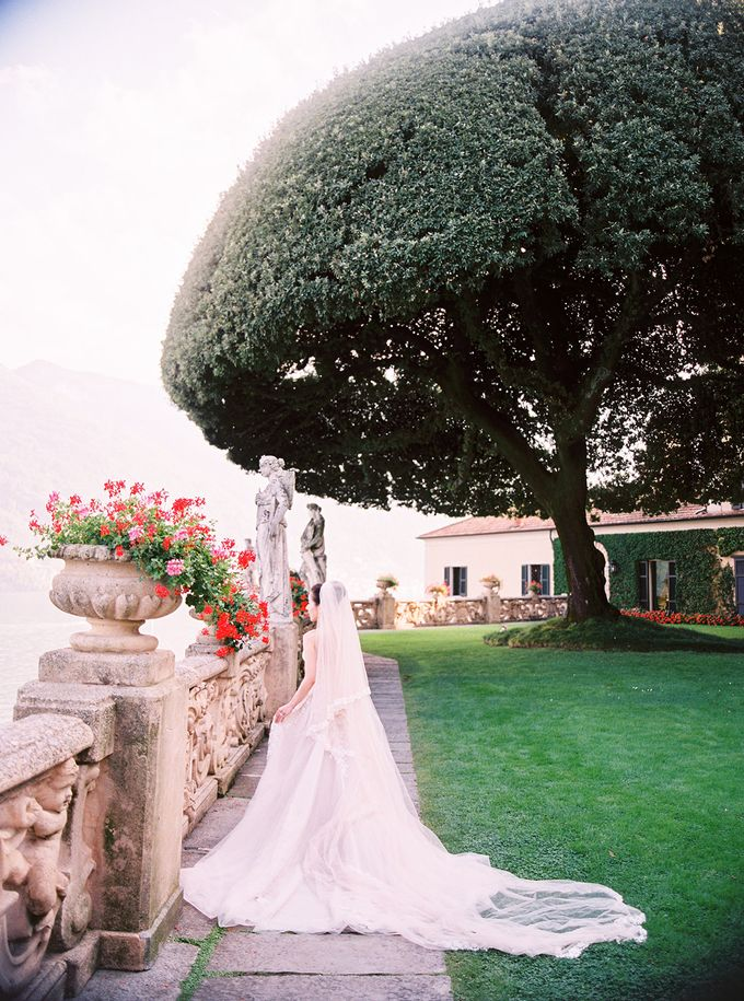 Glamorous Wedding at Villa del Balbianello Lake Como by AF Atelier - 017