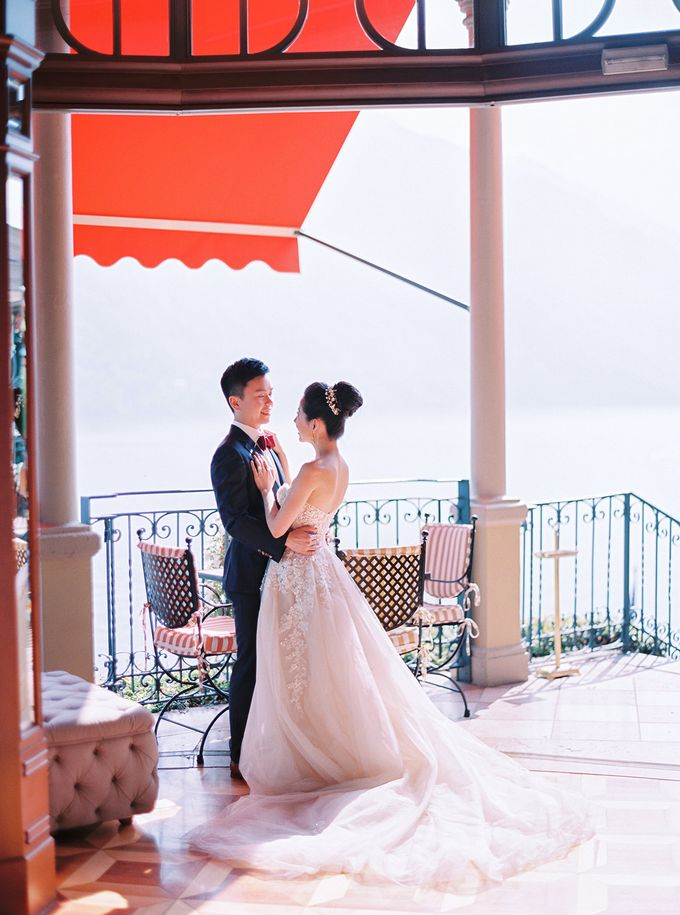 Glamorous Wedding at Villa del Balbianello Lake Como by AF Atelier - 010