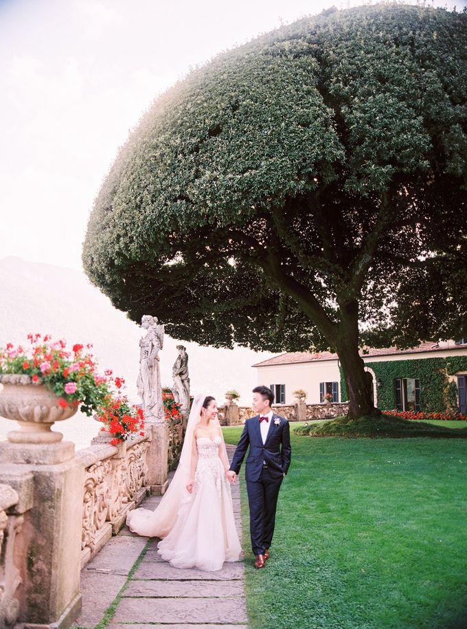 Glamorous Wedding at Villa del Balbianello Lake Como by AF Atelier - 018