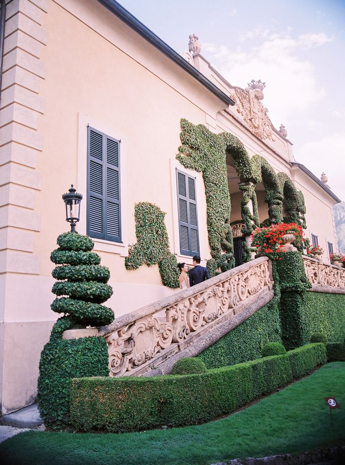 Glamorous Wedding at Villa del Balbianello Lake Como by AF Atelier - 019