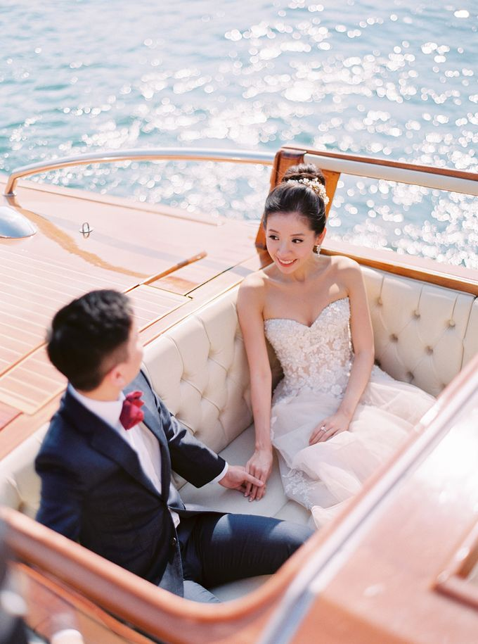 Glamorous Wedding at Villa del Balbianello Lake Como by AF Atelier - 011
