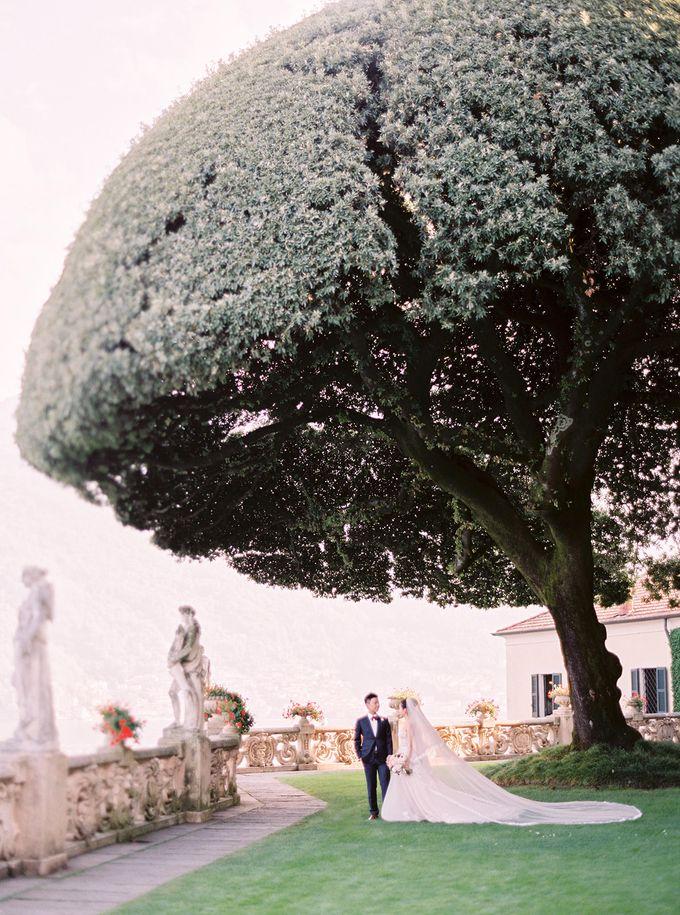 Glamorous Wedding at Villa del Balbianello Lake Como by AF Atelier - 020