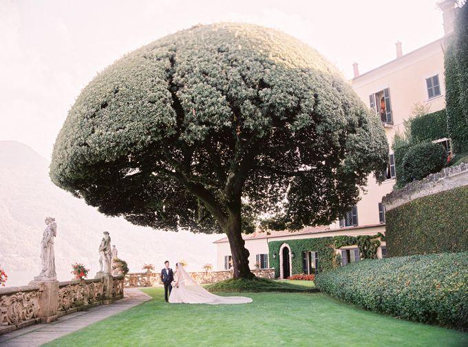 Glamorous Wedding at Villa del Balbianello Lake Como by AF Atelier - 023