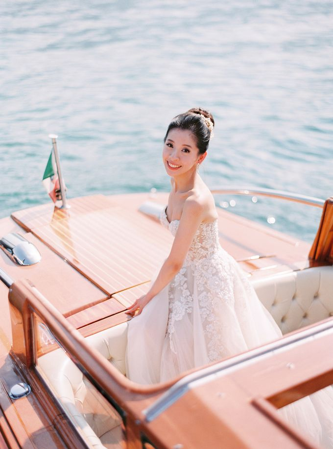 Glamorous Wedding at Villa del Balbianello Lake Como by AF Atelier - 012