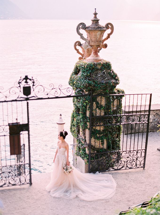 Glamorous Wedding at Villa del Balbianello Lake Como by AF Atelier - 013