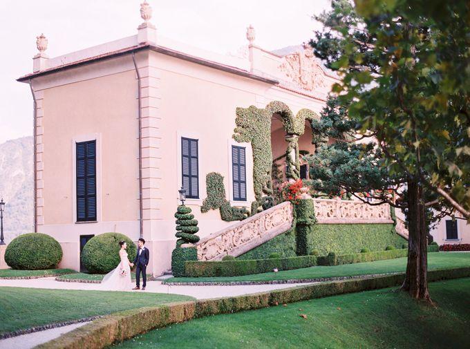 Glamorous Wedding at Villa del Balbianello Lake Como by AF Atelier - 025