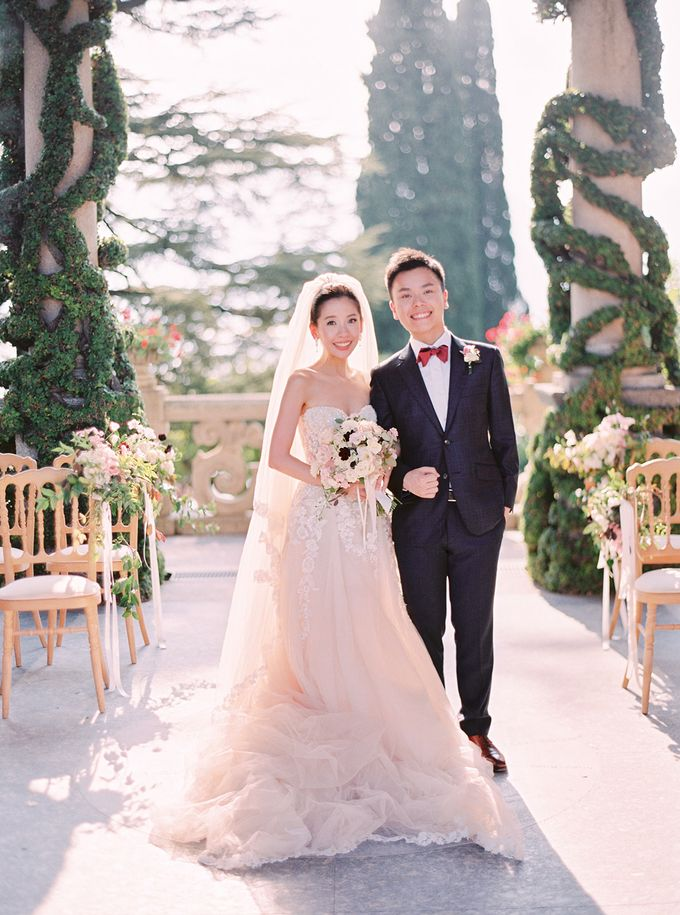Glamorous Wedding at Villa del Balbianello Lake Como by AF Atelier - 015
