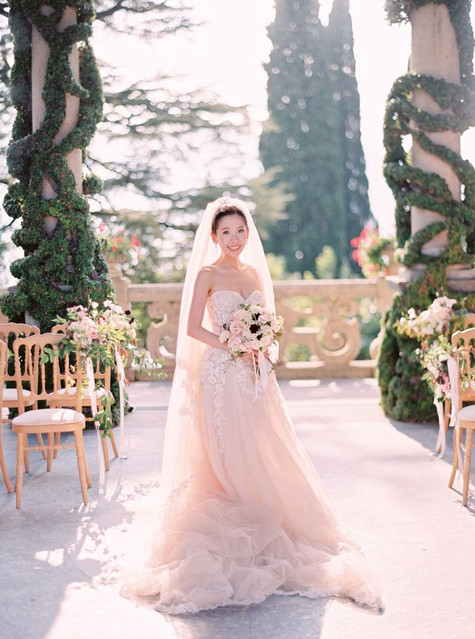Glamorous Wedding at Villa del Balbianello Lake Como by AF Atelier - 016