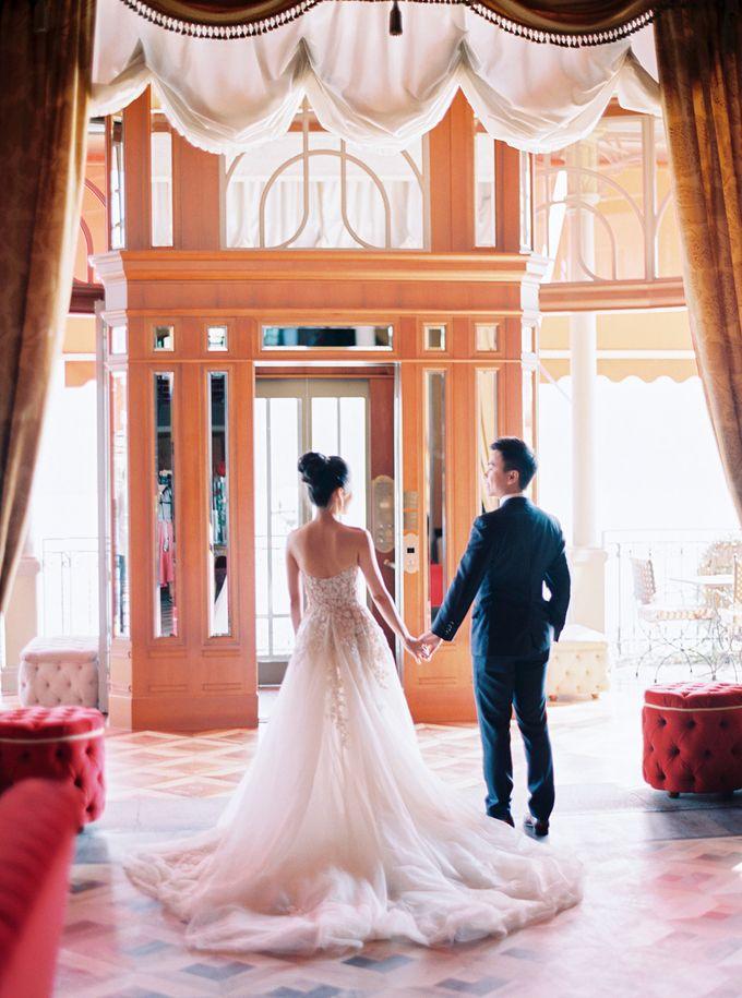 Glamorous Wedding at Villa del Balbianello Lake Como by AF Atelier - 008