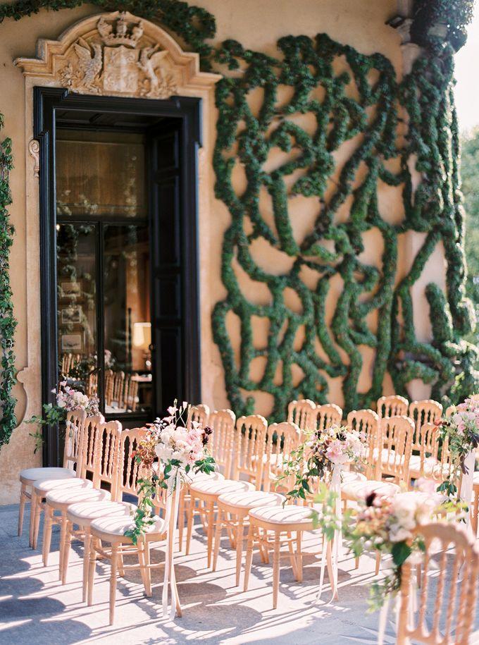 Glamorous Wedding at Villa del Balbianello Lake Como by AF Atelier - 002