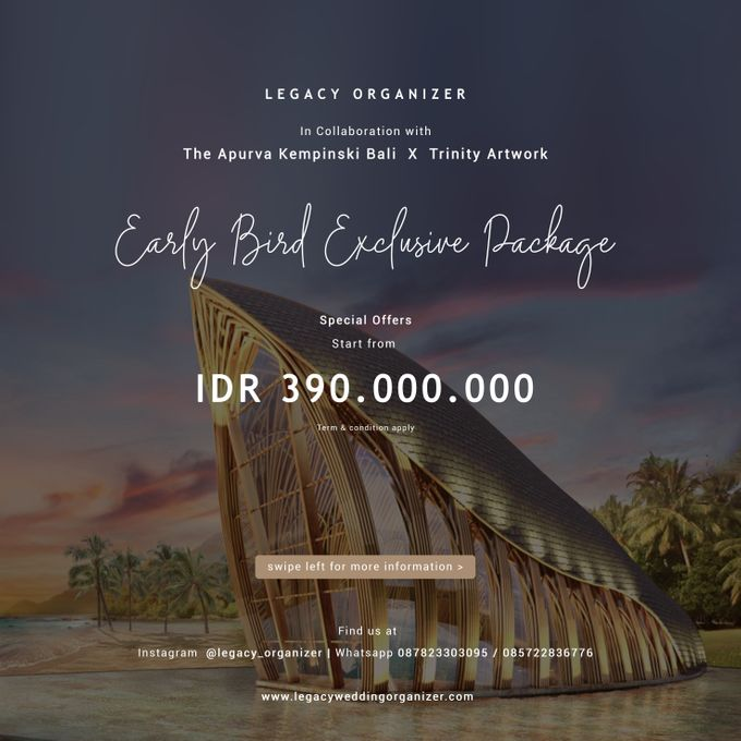 Legacy Exclusive  Package with  The Apurva Kempinski Bali by The Apurva Kempinski Bali - 002