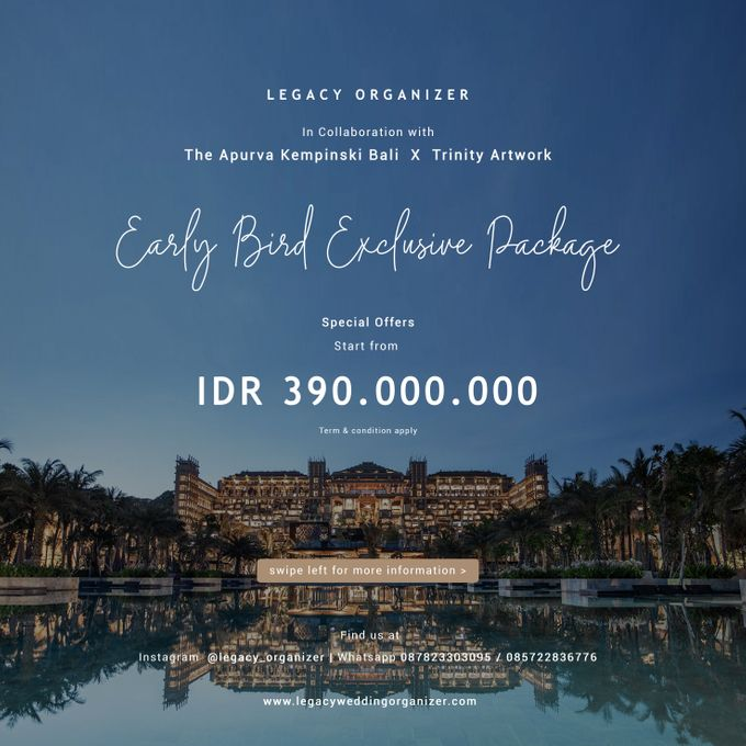 Legacy Exclusive  Package with  The Apurva Kempinski Bali by The Apurva Kempinski Bali - 003