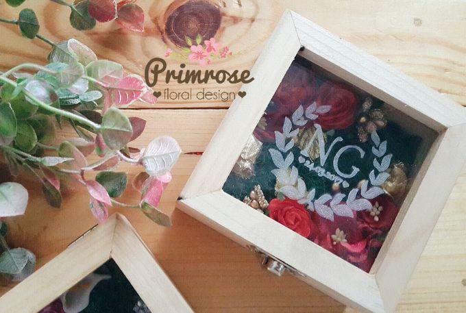 Wedding Ring Box by Primrose Floral Design - 036
