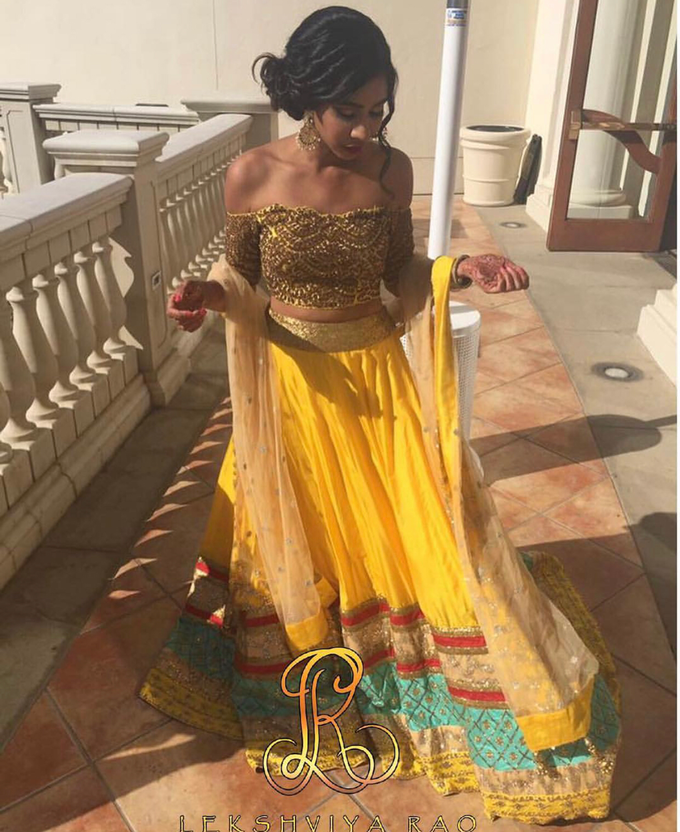 Bridal attire's by Lekshviya Rao Label - 005