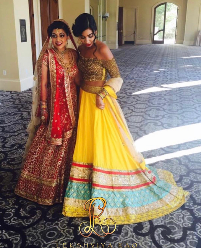 Bridal attire's by Lekshviya Rao Label - 003