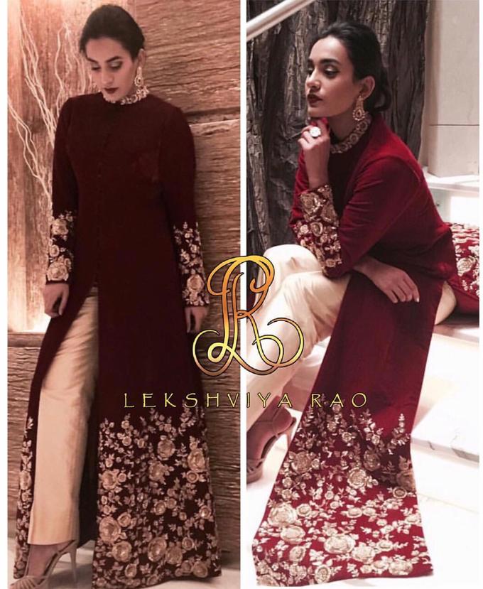 Bridal attire's by Lekshviya Rao Label - 001