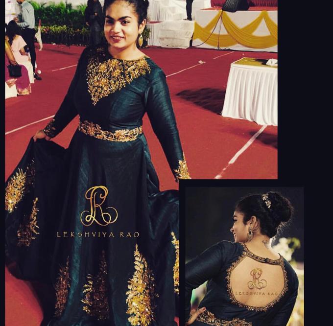 Bridal attire's by Lekshviya Rao Label - 002