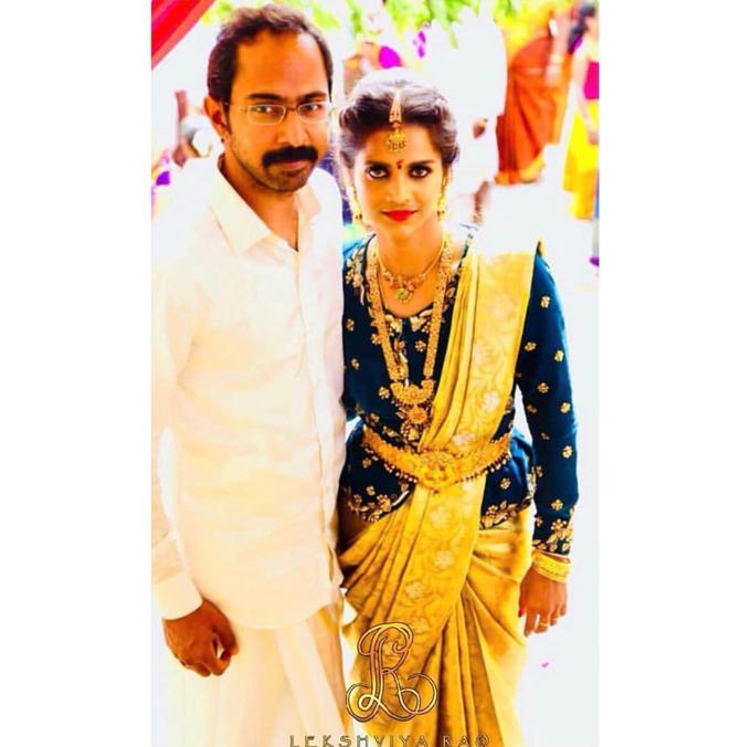 Bridal attire's by Lekshviya Rao Label - 007