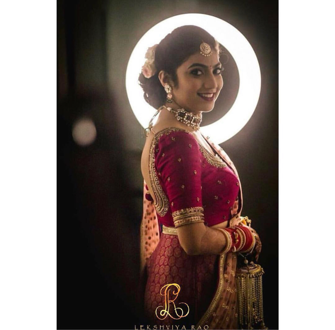 Bridal attire's by Lekshviya Rao Label - 009