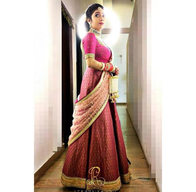 Bridal attire's by Lekshviya Rao Label - 010
