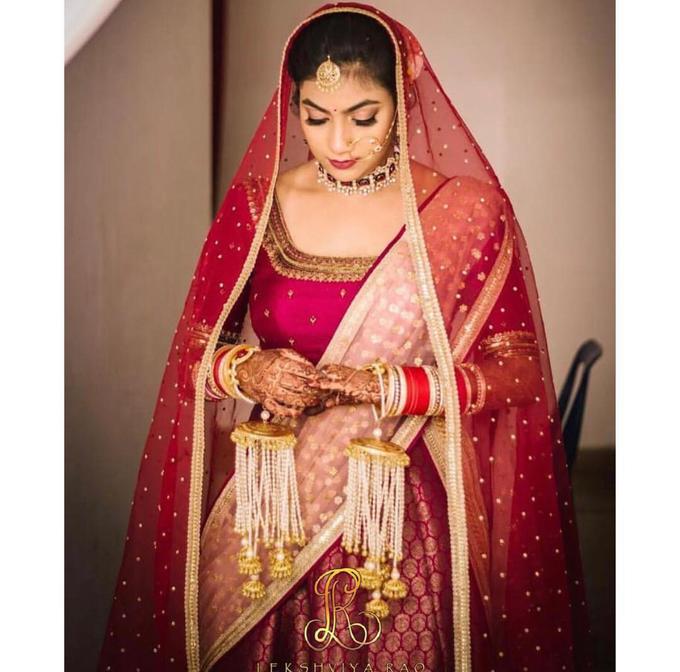 Bridal attire's by Lekshviya Rao Label - 011