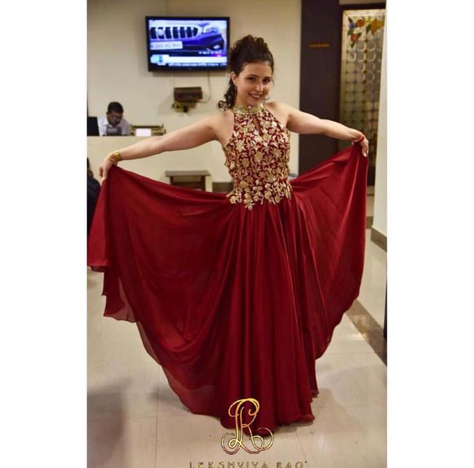 Bridal attire's by Lekshviya Rao Label - 012