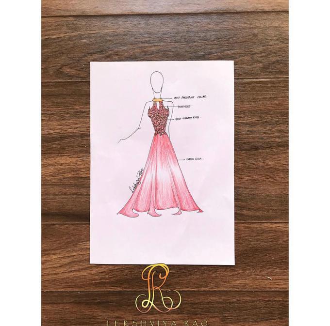 Bridal attire's by Lekshviya Rao Label - 013