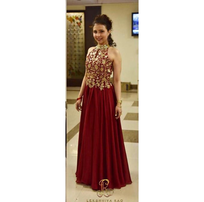 Bridal attire's by Lekshviya Rao Label - 014
