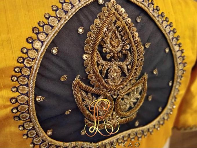 Bridal attire's by Lekshviya Rao Label - 018
