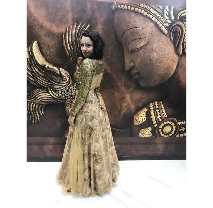 Bridal attire's by Lekshviya Rao Label - 021