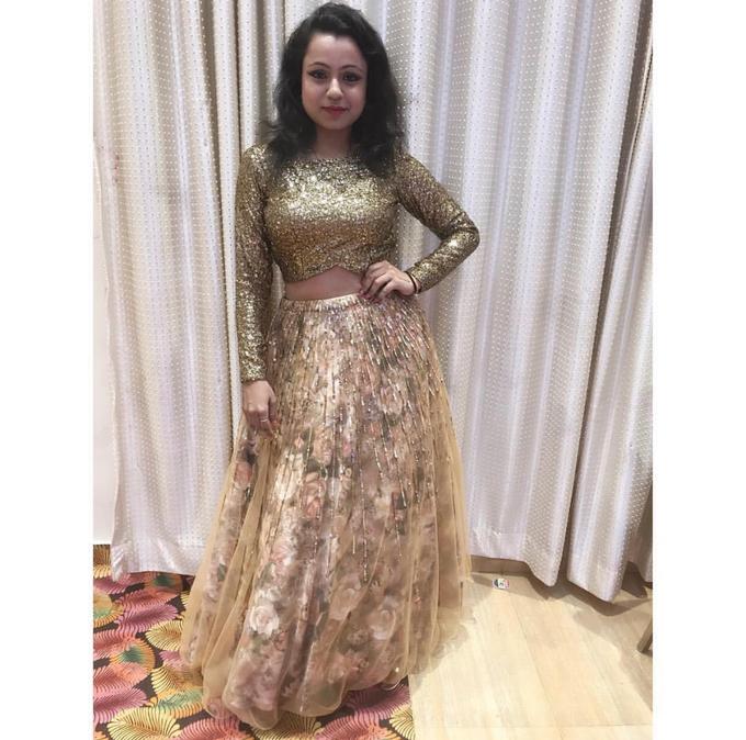 Bridal attire's by Lekshviya Rao Label - 022