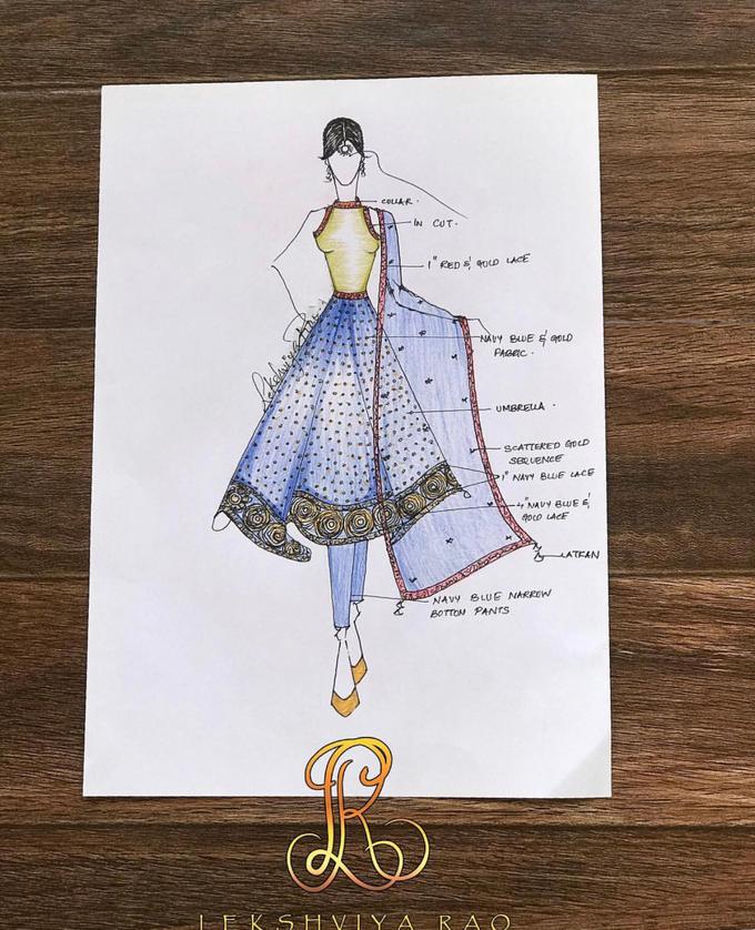 Bridal attire's by Lekshviya Rao Label - 023