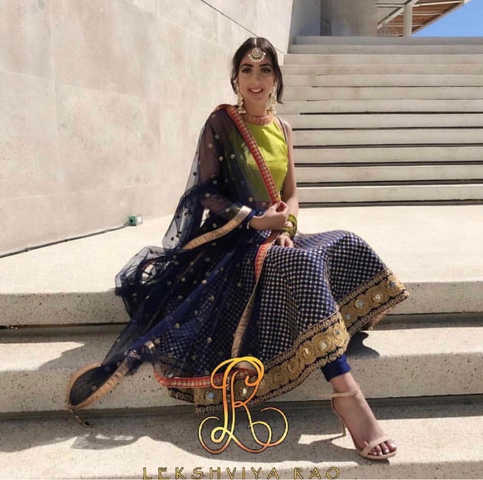 Bridal attire's by Lekshviya Rao Label - 025