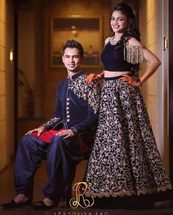 Bridal attire's by Lekshviya Rao Label - 028