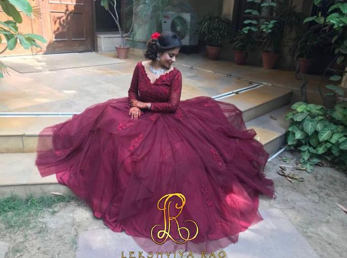 Cocktail gown by Lekshviya Rao Label - 001
