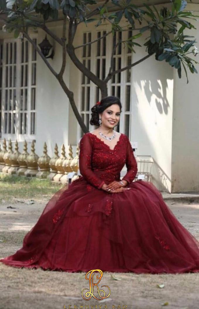 Cocktail gown by Lekshviya Rao Label - 002