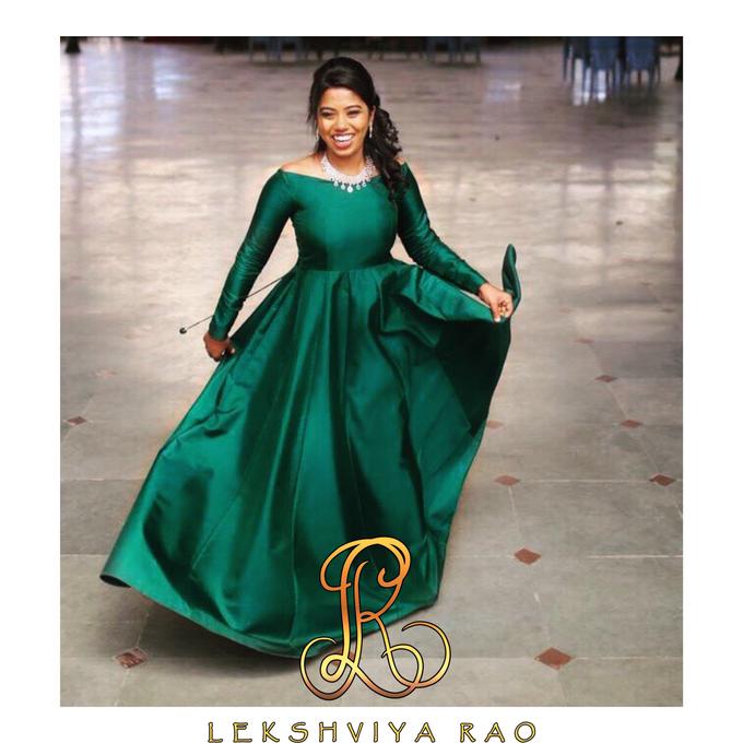 Cocktail gown by Lekshviya Rao Label - 005
