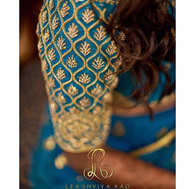Bridal attire's by Lekshviya Rao Label - 029