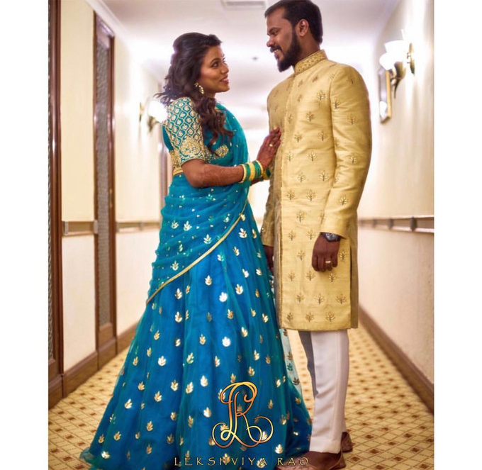 Bridal attire's by Lekshviya Rao Label - 030